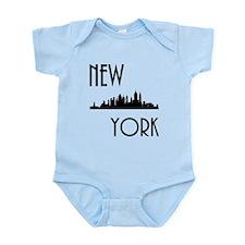 New York Skyline Body Suit