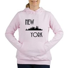 New York Skyline Women's Hooded Sweatshirt