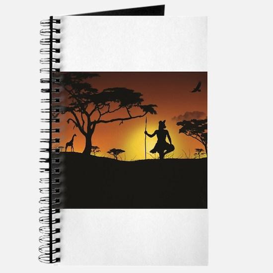 African Sunset Journal