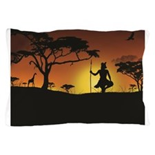 African Sunset Pillow Case