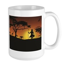 African Sunset Mugs