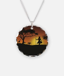 African Sunset Necklace