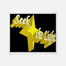 Seek the Light Throw Blanket