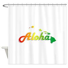 Aloha - Rasta Shower Curtain