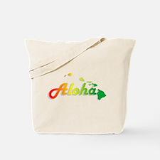 Aloha - Rasta Tote Bag