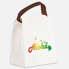 Aloha - Rasta Canvas Lunch Bag
