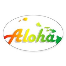 Aloha - Rasta Decal