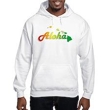Aloha - Rasta Hoodie