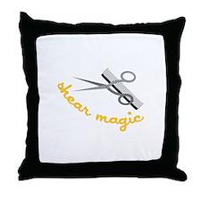 Shear Magic Throw Pillow