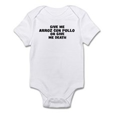 Give me Arroz Con Pollo Infant Bodysuit