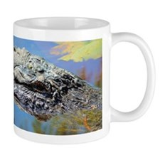 Alligator Closeup Mugs
