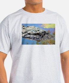 Alligator Closeup T-Shirt