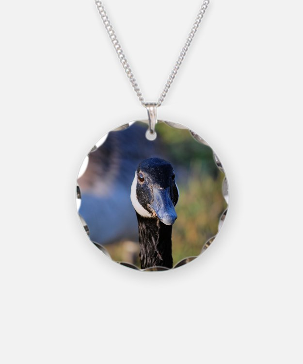 Canadian Goose Necklace