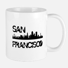 San Francisco Skyline Mugs