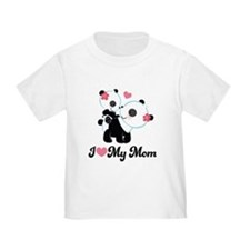 I Heart My Mom Mothers Day T-Shirt