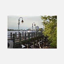 River Walk Wilmington  Rectangle Magnet