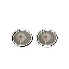 Dandelion Oval Cufflinks