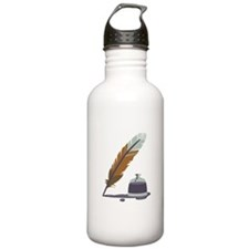 Pen & Ink Water Bottle