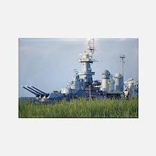 USS North Carolina  Rectangle Magnet