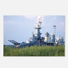 USS North Carolina  Postcards (Package of 8)