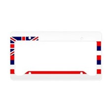 Flag - Hawaiian Island License Plate Holder
