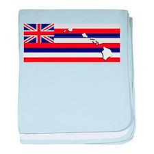 Flag - Hawaiian Island baby blanket
