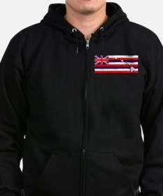 Flag - Hawaiian Island Zip Hoody