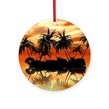 Island Ornament (Round)