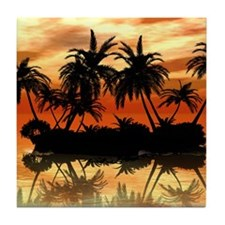 Island Tile Coaster