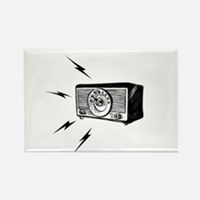 Old Radio! Rectangle Magnet (10 pack)