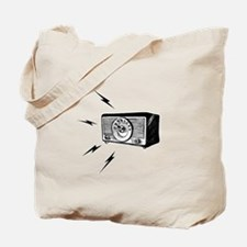 Old Radio! Tote Bag