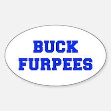BUCK-FURPEES-FRESH-BLUE Decal