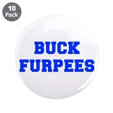 "BUCK-FURPEES-FRESH-BLUE 3.5"" Button (10 pack)"