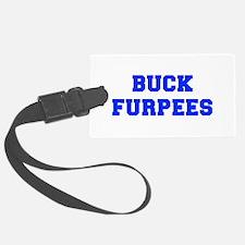 BUCK-FURPEES-FRESH-BLUE Luggage Tag