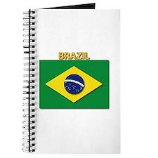 Flag - Brazil W Txt Journal
