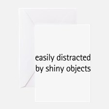 easilydistracted Greeting Cards