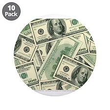 """Cash Money 3.5"""" Button (10 pack)"""
