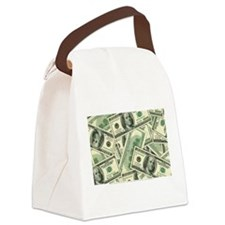 Cash Money Canvas Lunch Bag