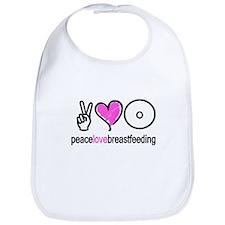 Peace, Love & Breastfeeding ( Bib