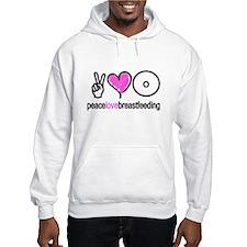 Peace, Love & Breastfeeding ( Hoodie