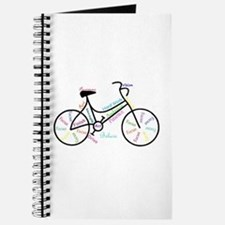 Motivational Words Bike Hobby or Sport Journal
