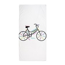 Motivational Words Bike Hobby or Sport Beach Towel
