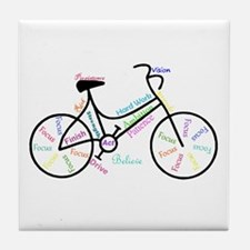 Motivational Words Bike Hobby Or Tile Coaster