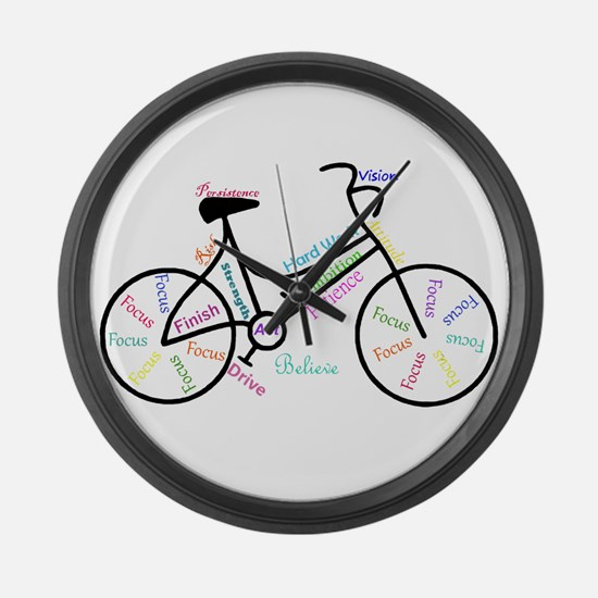 Motivational Words Bike Hobby or Sport Large Wall