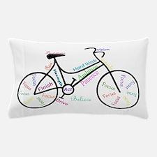 Motivational Words Bike Hobby Or Sport Pillow Case