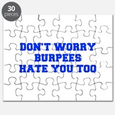 BURPEES-HATE-YOU-TOO-FRESH-BLUE Puzzle