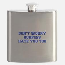 BURPEES-HATE-YOU-TOO-FRESH-BLUE Flask