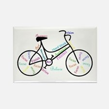 Motivational Words Bike Hobby Or Sport Magnets