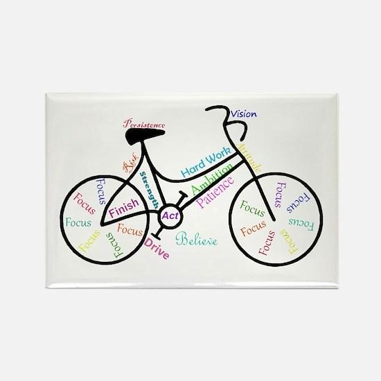 Motivational Words Bike Hobby Or Sport Magnets