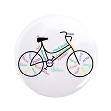 "Motivational Words Bike Hobby Or Sport 3.5"" B"